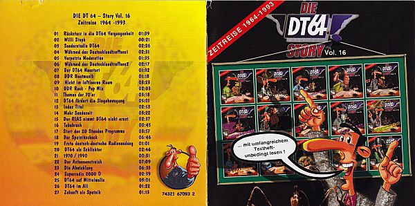 CD-Cover DT64 Vol. 16